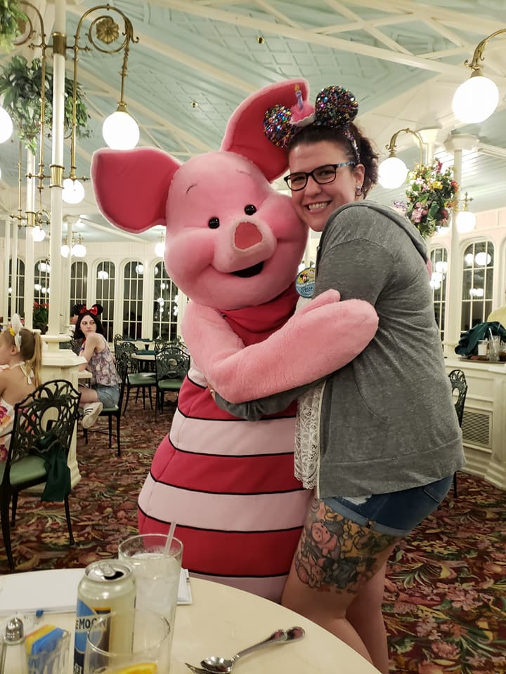 Stacey and Piglet