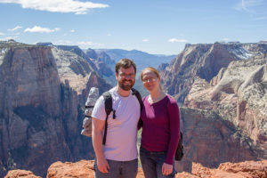 Grand Canyon couple