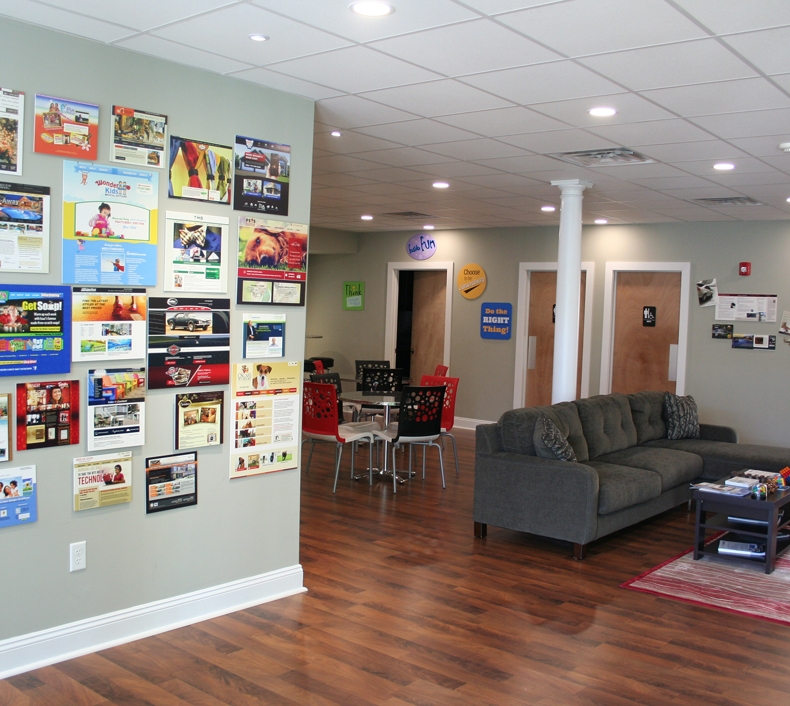 EZMarketing's front lobby