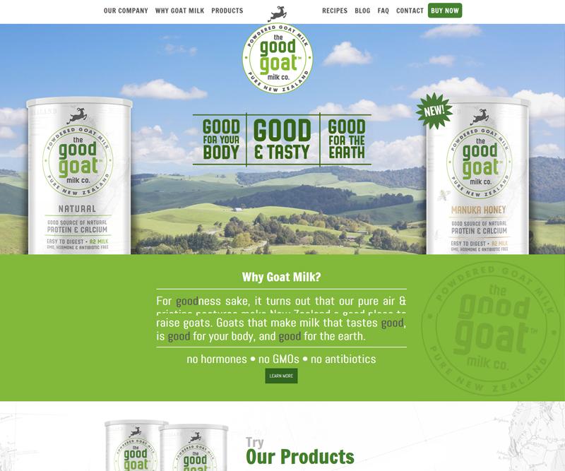 The Good Goat Milk Co.