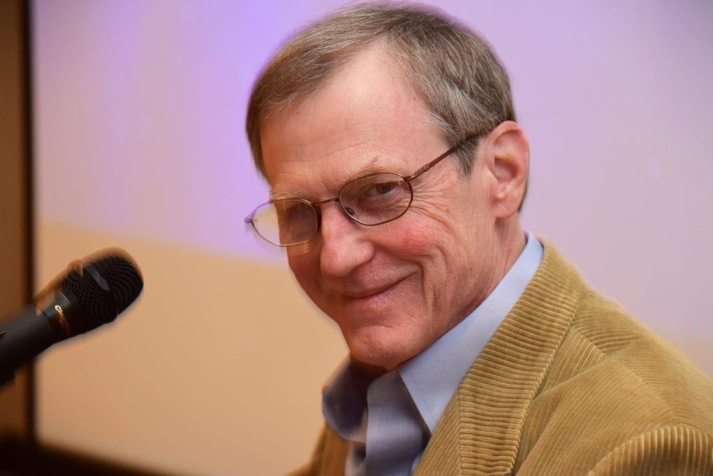 Bill Hager speaking
