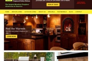 Lanchester Grill & Hearth website