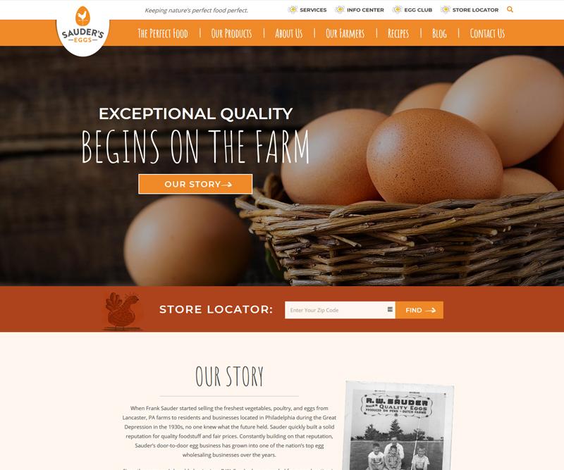 Sauder Eggs