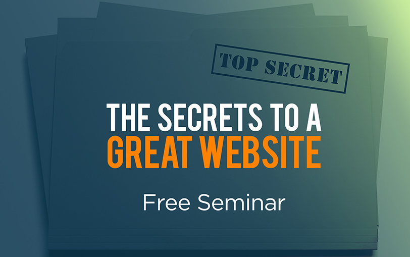 [Recorded Seminar] The Secrets to a Great Website