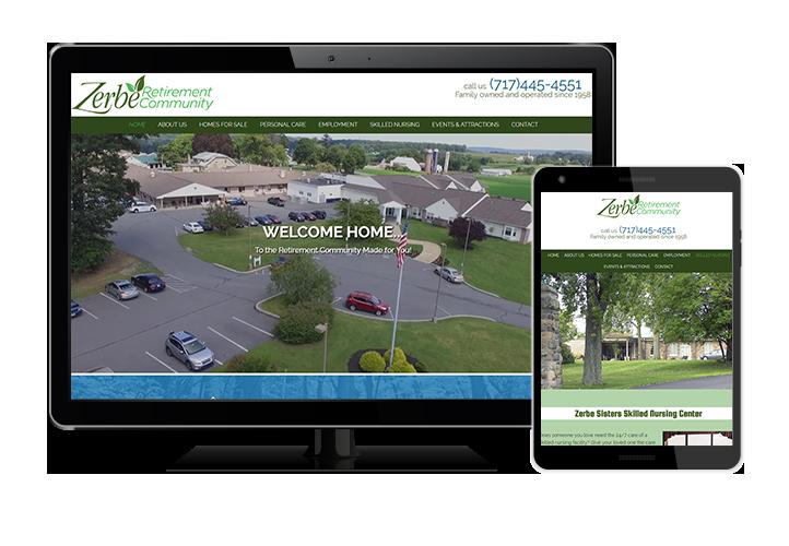 Zerbe Retirement website