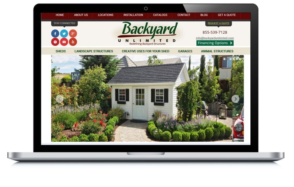 Example of Backyard Unlimited