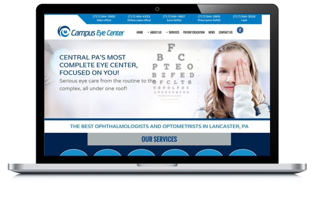 Example of Campus Eye Center
