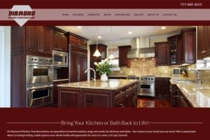 Diamong Kitchen Transformations website