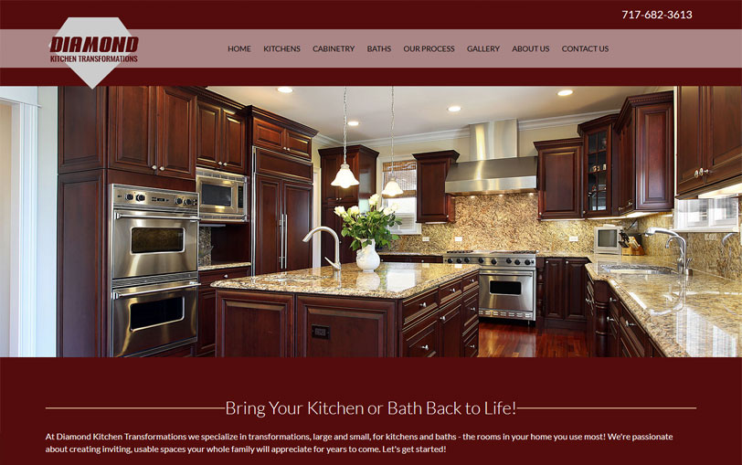 Example of Diamond Kitchen Transformations