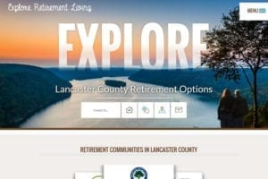 Explore Retirement Living website