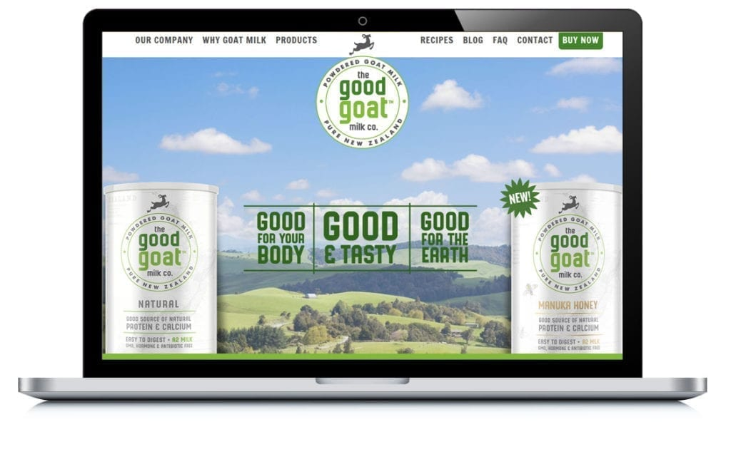 Example of Good Goat Milk Co