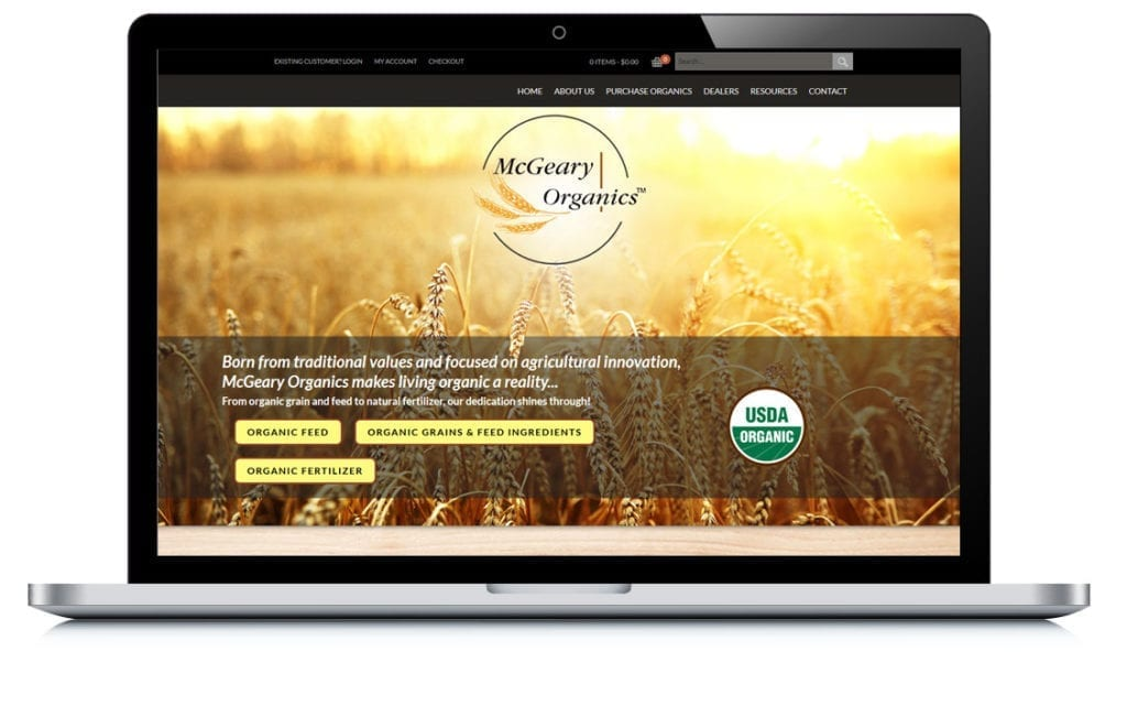 Example of McGeary Organics
