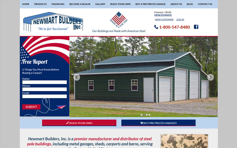 Example of Newmart Builders