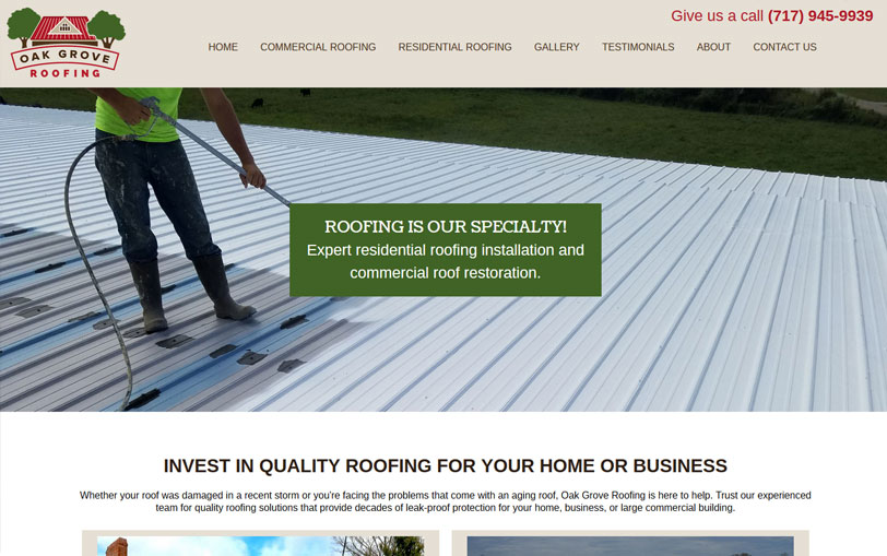 Example of Oak Grove Roofing