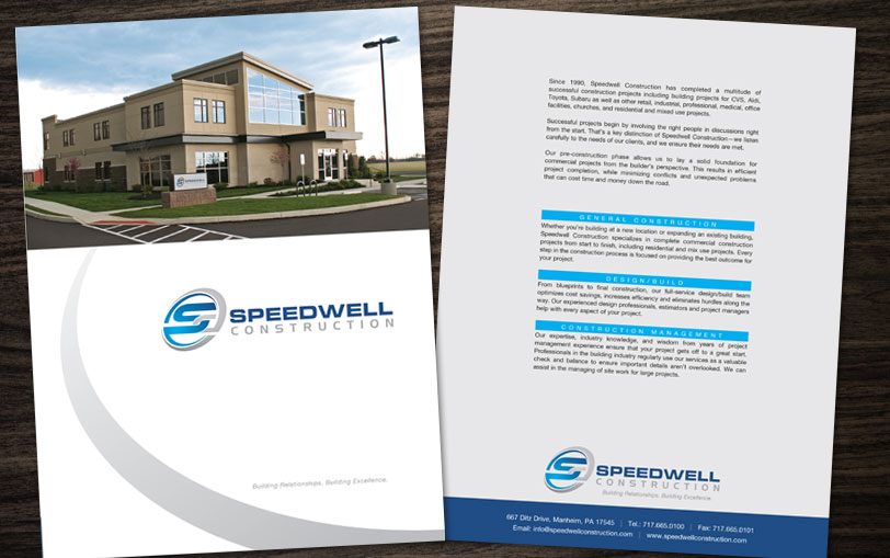 Example of Speedwell Construction