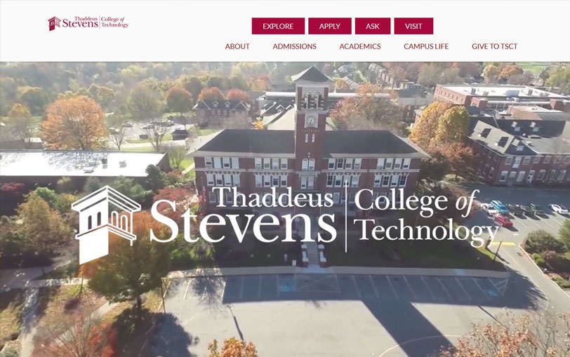 Example of Thaddeus Stevens College