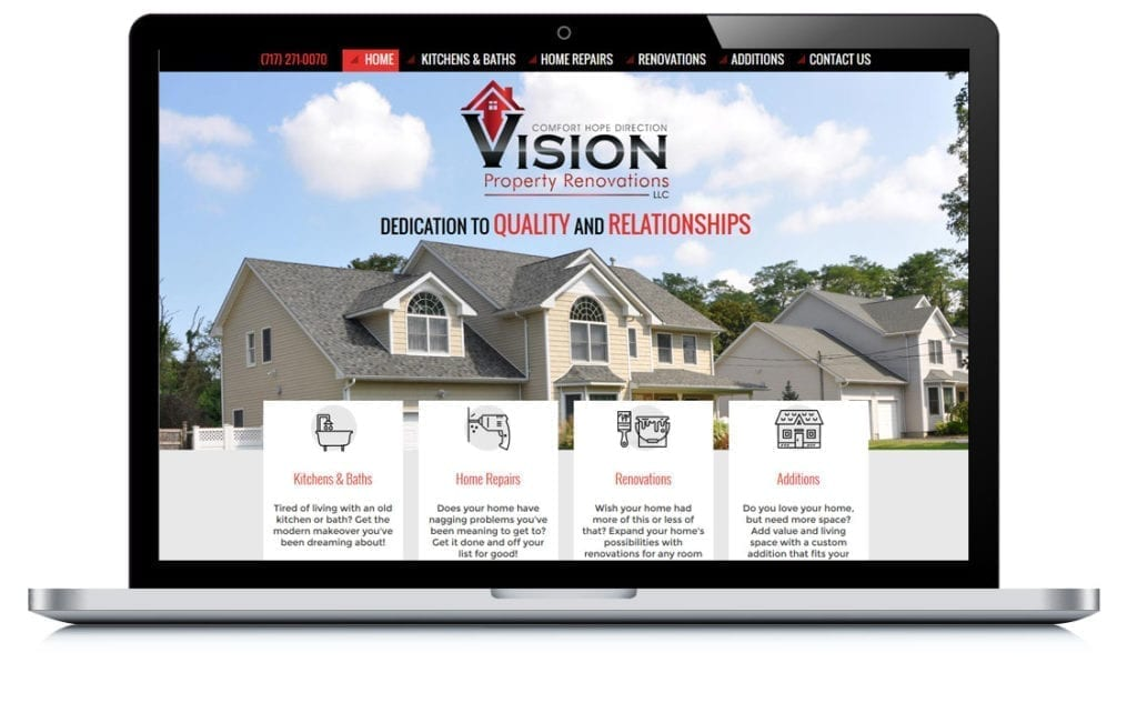 Example of Vision Property Renovations