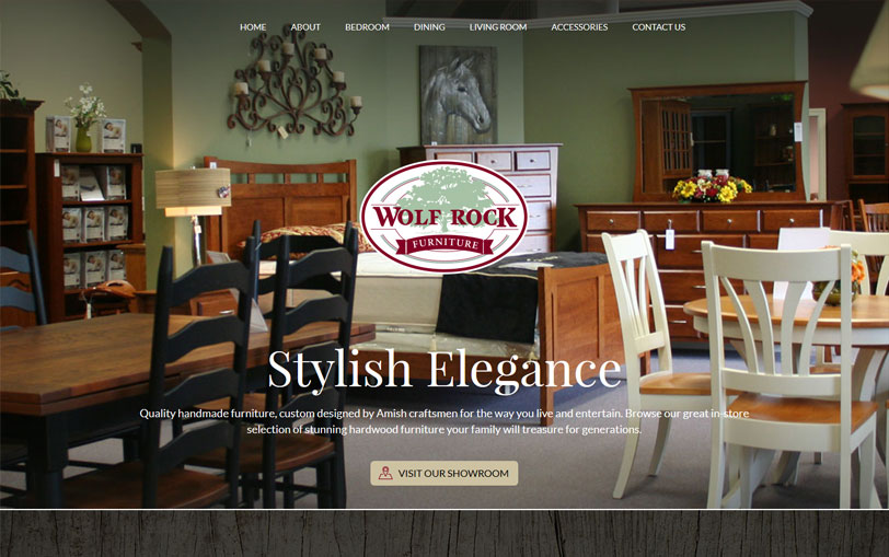 Example of Wolf Rock Furniture