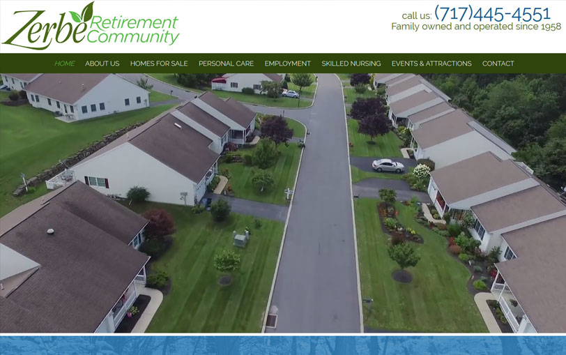 Example of Zerbe Retirement Community