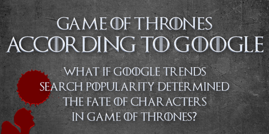 [Infographic] Game of Thrones – According to Google