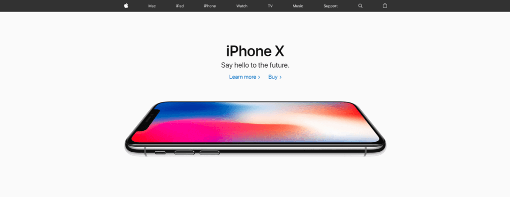 Apple-homepage