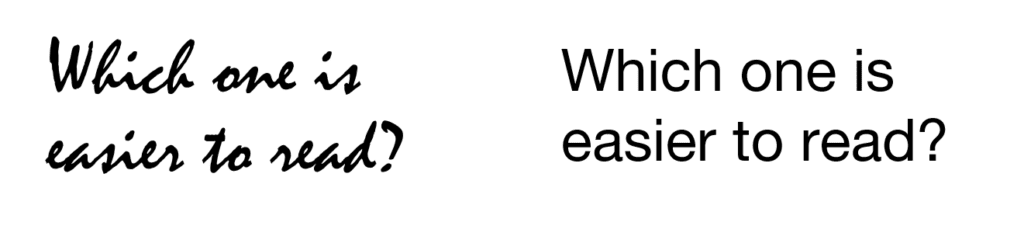 font-readability-example