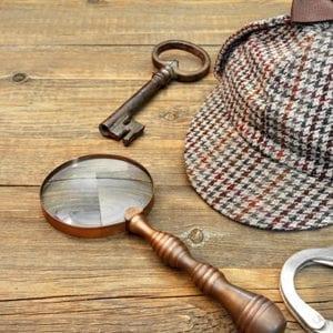 Sherlock Holmes style items