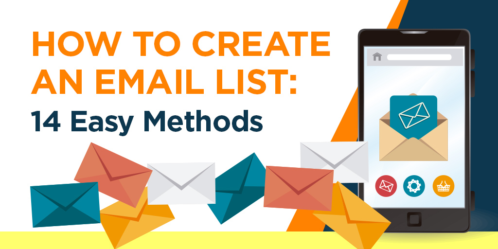 How to create an email list banner graphic