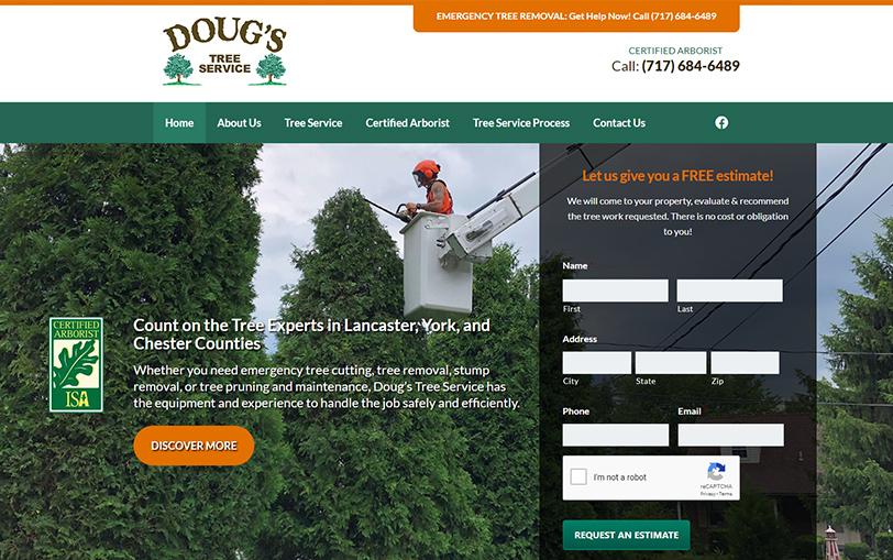 Example of Doug's Tree Service
