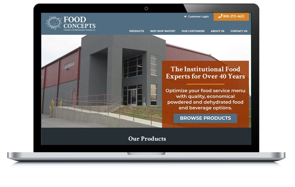Example of Food Concepts