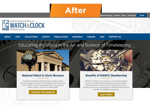 NAWCC website -after