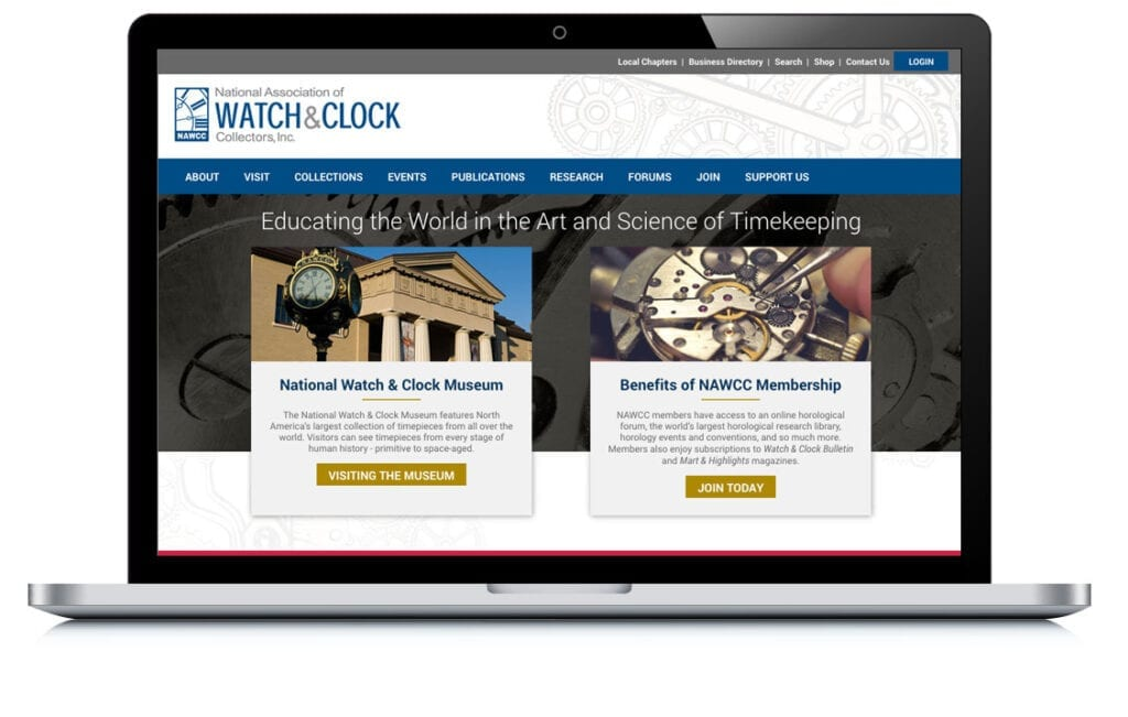 Example of National Association of Watch & Clock Collectors