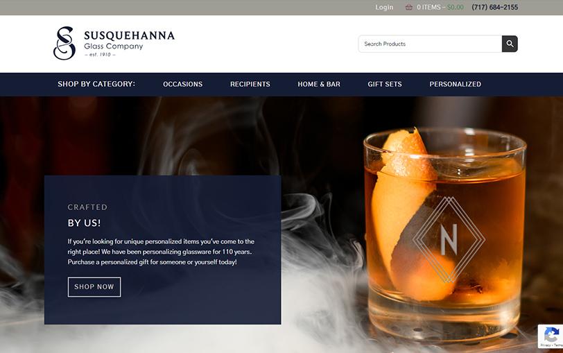 Example of Susquehanna Glass