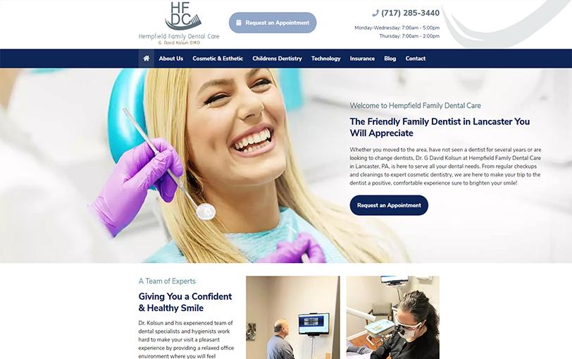 Example of Hempfield Family Dental Care