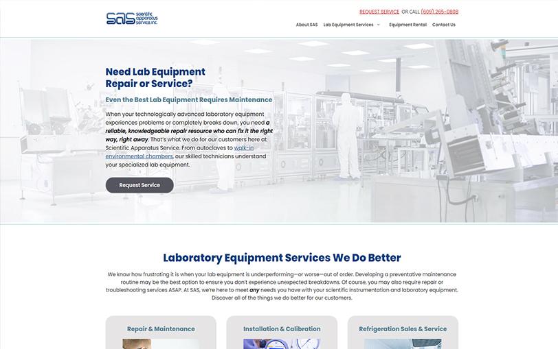 Example of Scientific Apparatus Service