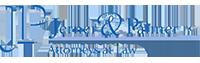 Jerner law logo design