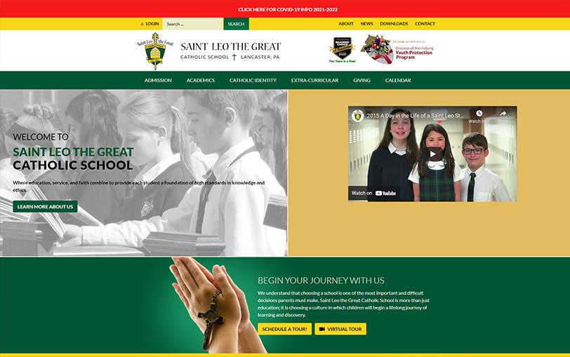 Example of Saint Leo The Great Catholic School