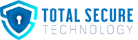 Total secure technology logo design