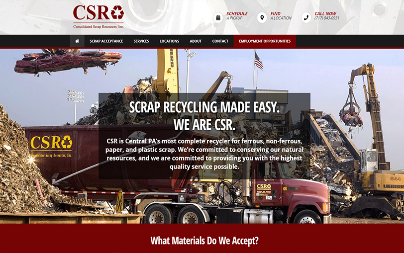 Example of Consolidated Scrap Resources